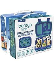 One Bentgo Fresh and One Bentgo Kids Lunch Box (Shark Print)