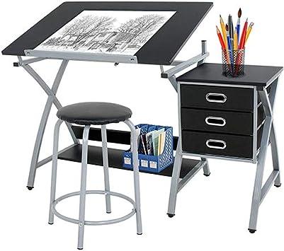 homgarden ajustable estación de cristal templado de escritorio ...