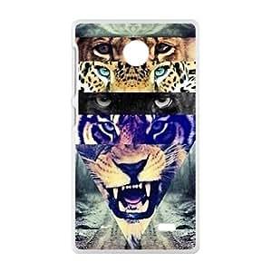 tiger Phone Case for Nokia Lumia X Case