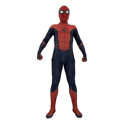 Disfraces De Superhéroe Spiderman Unisex Adultos Niños Spandex ...