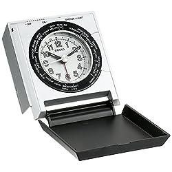 Seiko QHE116SLH Travel Alarm Japanese Quartz Alarm Clock