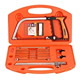 Handsaws Set, 12PCS/Set Magic Multifunction DIY Bow Saws, Template Tools for Wood Working, Kitchen, Glass,Tile, Ceramic, Metal, Plastic,Pipe