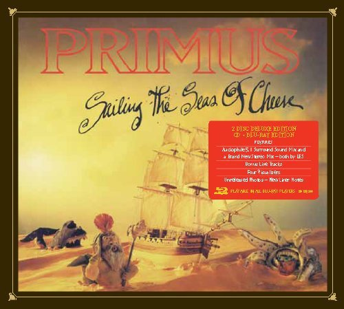 primus sailing the seas of cheese cd blu ray combo deluxe edition amazon com music