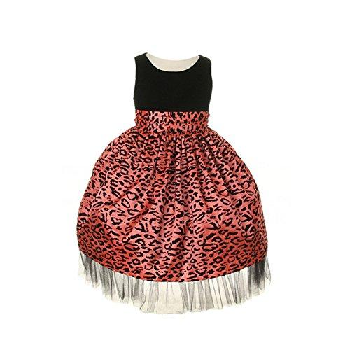 cheetah babydoll dress - 8