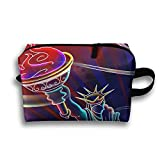 Rainbow Statue Of Liberty Travel Bag Toiletries Bag - Best Reviews Guide