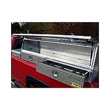 """72"""" Aluminum TopMount TopRail Pickup Truck Tool Box"""