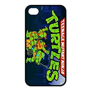 Cartoon TMNT iphone 4/4S Case for iphone 4/4s Cover Teenage Mutant Ninja Turtles Popular Durable Case WANGJING JINDA