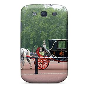 [oQd4177WByT] - New Carriage In Uk Vacation 02 Protective Galaxy S3 Classic Hardshell Case