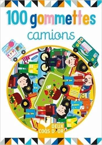 Livre 100 gommettes - camions epub pdf