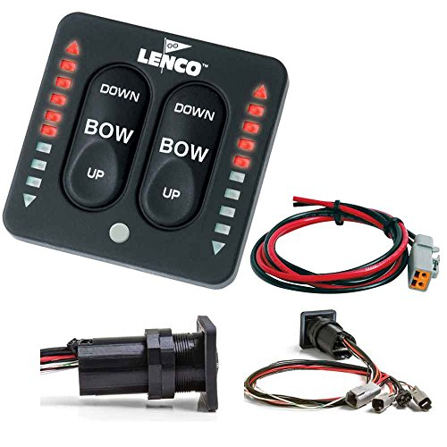 - Lenco LED Indicator Integrated Tactile Switch Kit w/Pigtail f/Single Actuator Systems