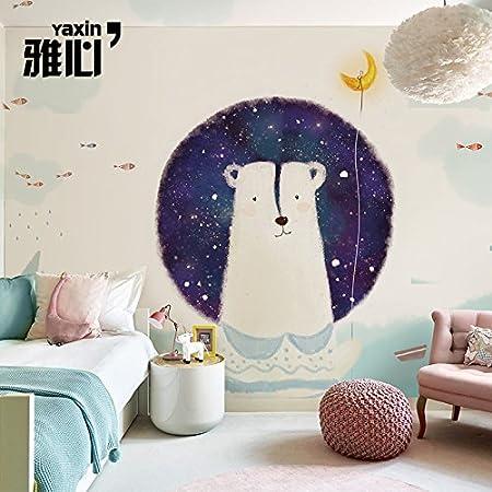 Hanhuan Art Deco Fresco Wallpaper Mural Waterproof Customizable Size