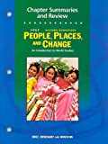 People, Places and Change, Holt, Rinehart and Winston Staff, 0030375835