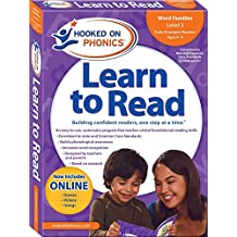 Hooked on Phonics Learn to Read - Level 3: Word Families (Early Emergent Readers | Kindergarten | Ages 4-6)