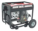 All Power America APG3201, 5000 Running Watts/6500 Starting Watts, Diesel Powered Portable Generator
