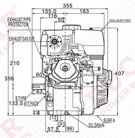 Kohler Hp Diagram 2 0 Engine Cranksealparts