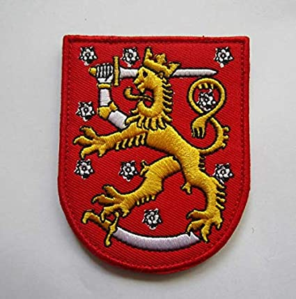 3fdd98ab64e8 Amazon.com: Finland Finnish Military Patch Fabric Embroidered Badges ...