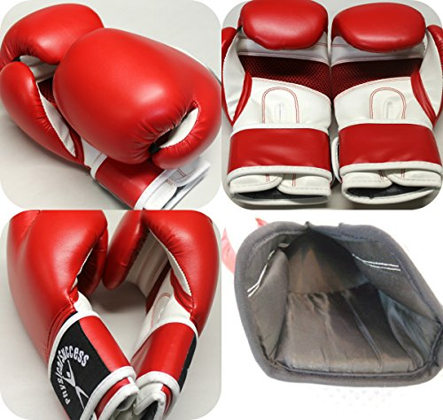 Boxing Gloves for Kids Red 6oz (1 PAIR EACH) (Fancy Dress Boxing Gloves)