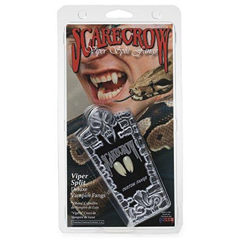 Scarecrow Viper Split Deluxe Custom Fangs -