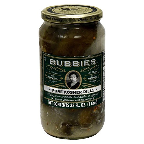 Bubbies Pure Kosher Dill Pickle 33.0 OZ(Pack of 1) by Bubbies (Image #1)