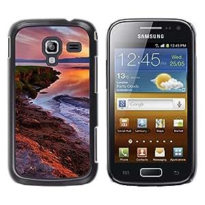 TopCaseStore / la caja del caucho duro de la cubierta de protección de la piel - Nature Beautiful Forrest Green 74 - Samsung Galaxy Ace 2 I8160 Ace II X S7560M