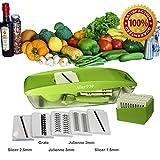Mandoline Slicer - MultiPurpose - For Vegetable - Fruit - Cheese...