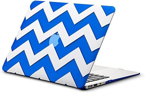 Kuzy 13 inch Chevron Rubberized MacBook