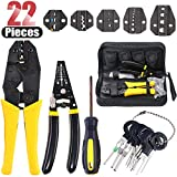 Best Automotive Wire Crimpers - Hilitchi 4 Pcs Wire Crimping Tool Kit Terminal Review