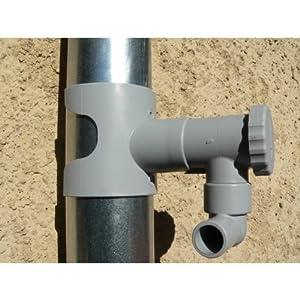 Capt eau r cup rateur d eau de pluie pour conduits - Robinet pour recuperateur d eau de pluie ...