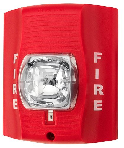 Fire Alarm Strobe Light Self Powered Hidden Spy Camera - 30 Day Battery Life