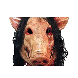 Cute funny Pig Head Hat Hair Costume Mask Zippered Pillow Cases Cover 20x30 Inch  sc 1 st  Amazon.com & Amazon.com: Cute funny Pig Head Hat Hair Costume Mask Zippered ...