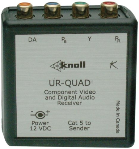 Knoll Systems UR-QUAD Component Video and Digital Audio (Knoll Video Receivers)