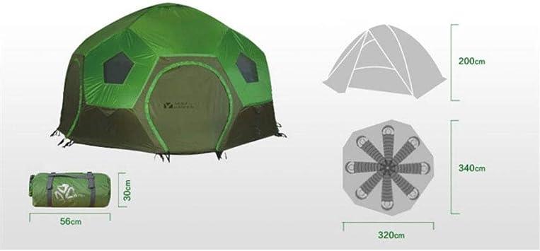 Spacious,Anti UVZelt, Viele Menschen überdimensioniert Zelte