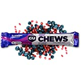 GU Energy Labs Chews Double-Serving Sleeve, Blueberry Pomegranate, 18-Count
