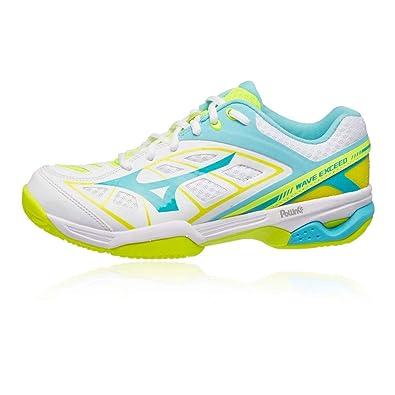 official photos 8fdd1 68f67 Mizuno Wave Exceed Court Women s Chaussure De Tennis  Amazon.fr  Chaussures  et Sacs