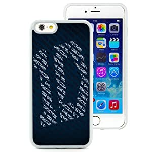 Unique Phone Case One Direction iPhone 6 4.7 inch Wallpaper in White