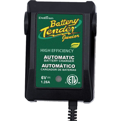 International Battery Tender - Battery Tender Jr for 6V Batteries 022-0196, Multi-Colored, One Size