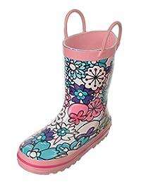"Laura Ashley Girls' ""Floral Pop"" Rain Boots"