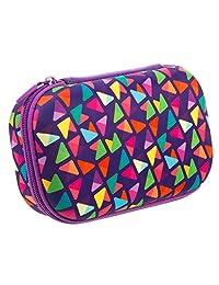 Zipit Colorz estuche para anteojos, Azul, Caja de almacenaje para lápices, Púrpura