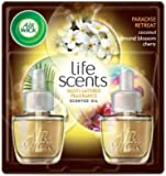 Air Wick Scented Oil Twin Refill Life Scents Paradise Retreat (Coconut/Almond Blossom/Cherry) (2X.67) Oz.