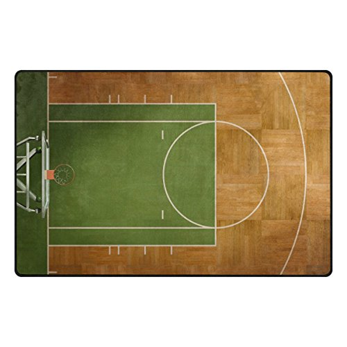 My Daily Basketball Court Area Rug 3'3