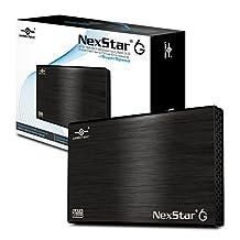 Vantec 2.5-Inch SATA 6Gb/s to USB 3.0 HDD/SSD Aluminum Enclosure, Black (NST-266S3-BK)