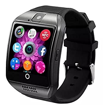 Q18 Montre connectée Bluetooth et Gsm pour Samsung Galaxy, Sony Xperia, Smartphone Android
