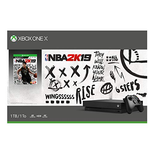 51ZzI LiH5L - Xbox One X 1TB Console - NBA 2K19 Bundle