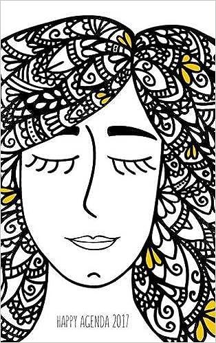 Happy Agenda 2017: Zentangle Girl (Spanish Edition): Louma ...