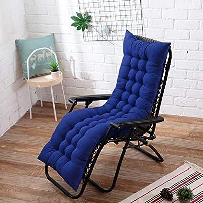 Cojín para silla balancín de jardín grueso y largo, suave y ...