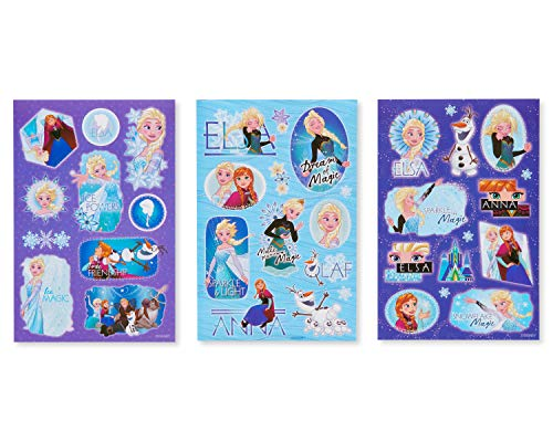 American Greetings Disney Frozen Sticker Sheets, 148-Count ()