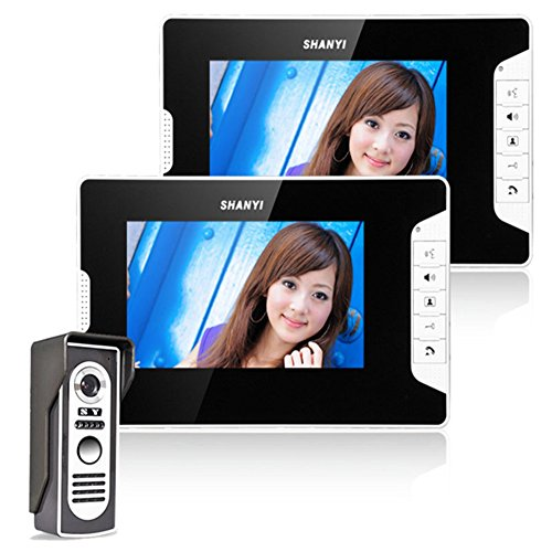 Ennio 7 Inch Video Door Phone Doorbell Intercom Kit 1-camera