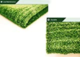 "Artificial Grass Area Rug – Grass Height: 0.4"" - Size: 4-feet x 6-feet - Perfect Color/Sizing for Any Indoor/Outdoor Uses and Decorations!"