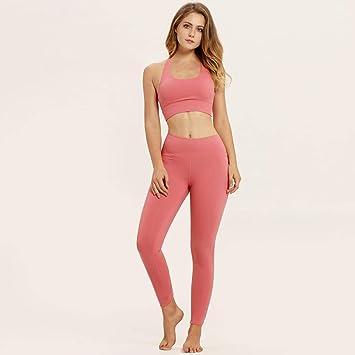 YANGCONG Ropa de Fitness de Yoga Ropa Deportiva para Mujer ...