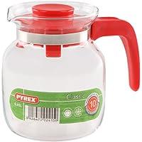 Pyrex - Jarra Multiusos, roja, de Cristal, 0,65
